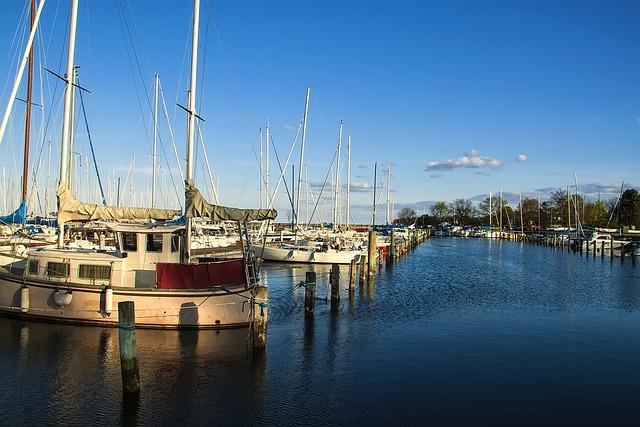 Landscape, Dock, Sailboat, Manzara3, Boats, Port
