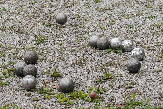 Balls, Play, Bocce, Boule, Pebble, Pétanque