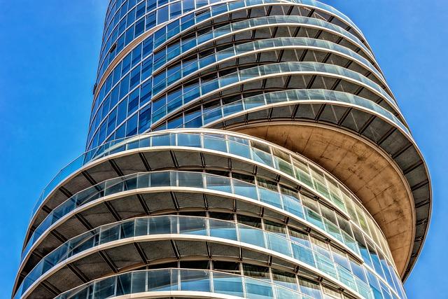 Architecture, Skyscraper, Eccentric Tower, Bochum