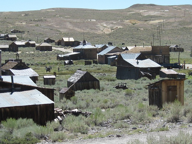 Bodie, California, Mining, Ghost Town, Bodie Ghost Town