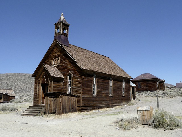 Bodie, Ghost Town, California, Usa, Old, Antique