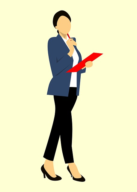 Business, Folder, Clipboard, Holding, Isolated, Body
