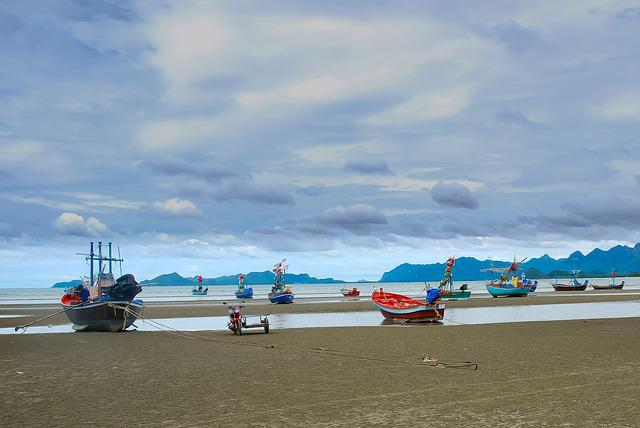 Sea, Beach, Body Of Water, Side, Travel, Thailand, Boat