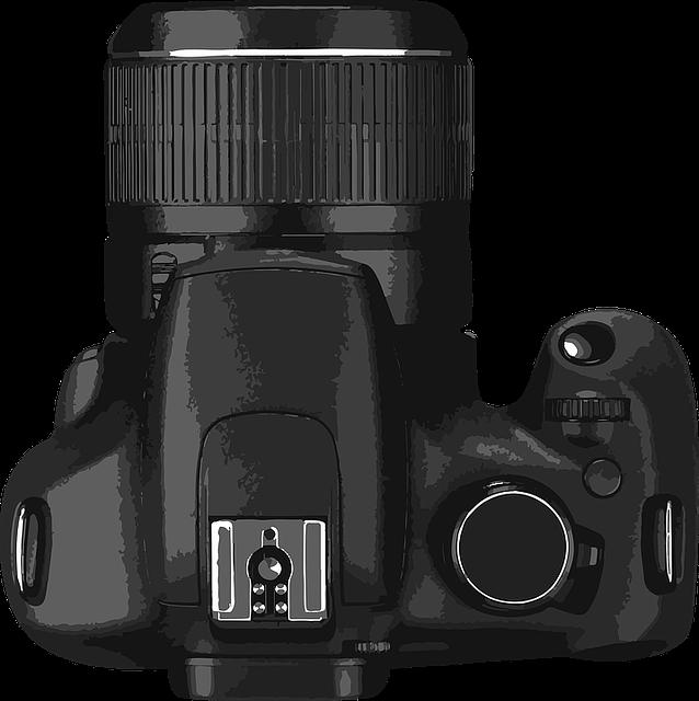 Camera, Slr, Digital, Digital Camera, Vector, Body