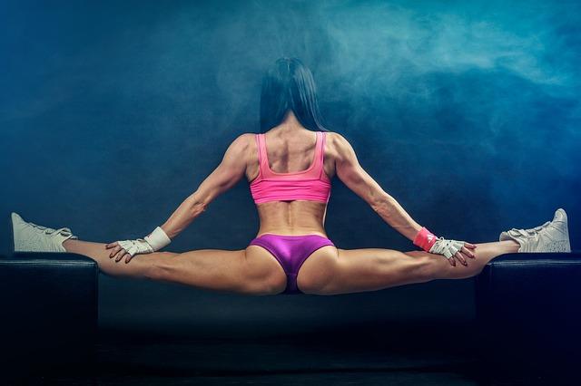 Twine, Fitness, Girl, Body-building, Training, Sports