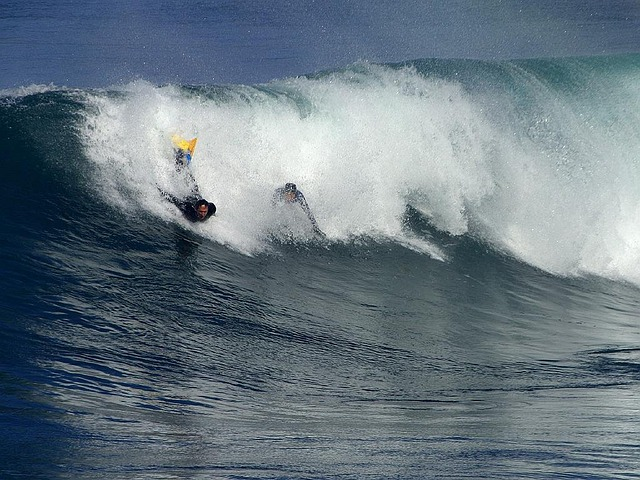 Bodyboarding, Surfing, Surf, Wave, Sea, Water Sports