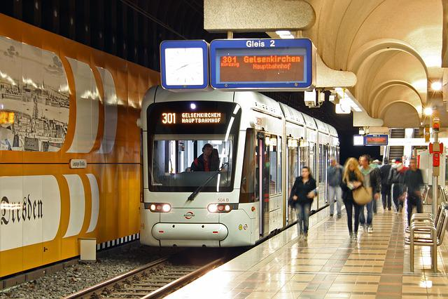 Bochum, Gelsenkirchen, Bogestra, Tram, Metro