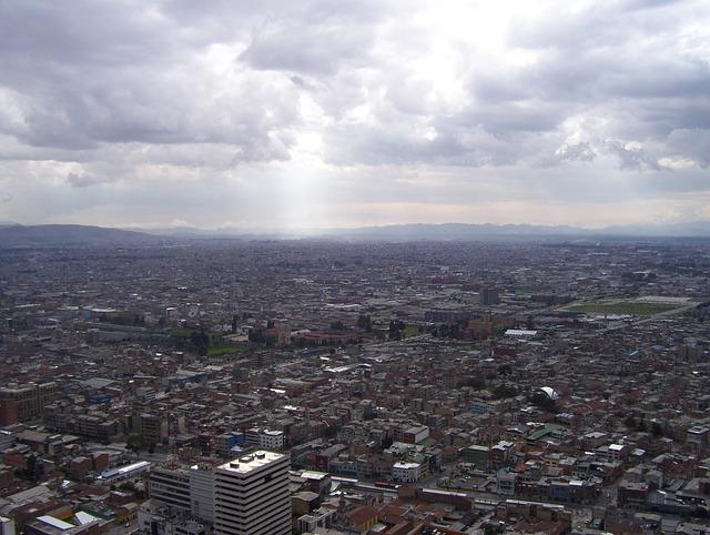 Bogota, Colombia, Panoramic, Architecture, Skyline