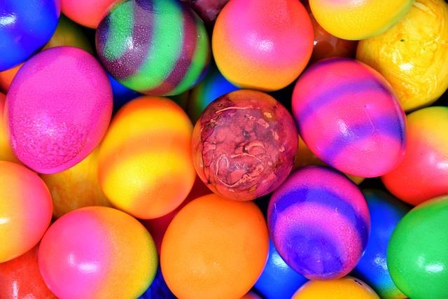 Egg, Easter Eggs, Colorful Eggs, Boiled Eggs, Easter