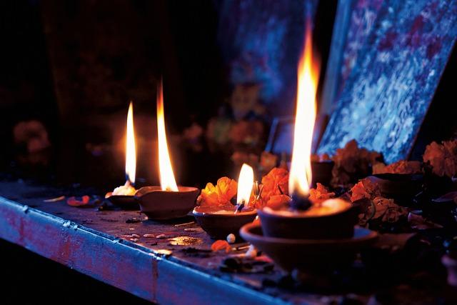 Light, Ghi, Lamp, Dark, Bokeh, Night, Fire, Altar