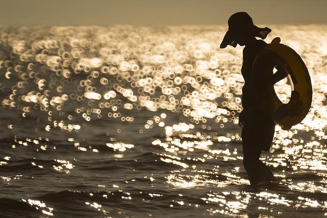 Busan, Light Mens Wool, Bokeh, Sea-side, Beach, Sea
