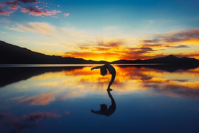 Bolivia, Mountains, Bay, Cove, Sea, Ocean, Reflections