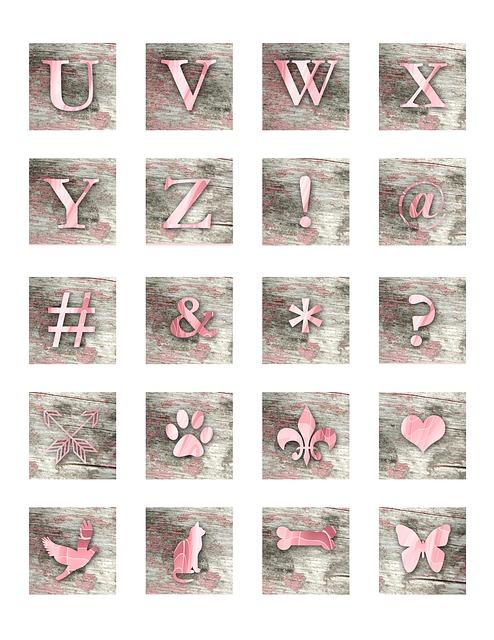 Alphabet, Letter, Block, Symbol, Eagle, Butterfly, Bone