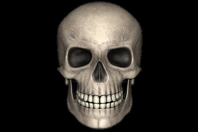 Skull, Day Of The Dead, Bone, Halloween, Dark, Death