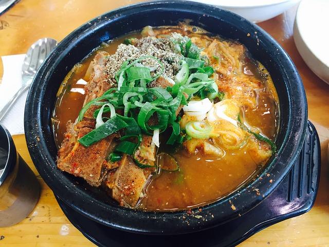 Food, Bone Haejangguk, Gamjatang, Pot, Spine