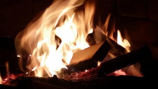 Fire, Bonfire, Firepit