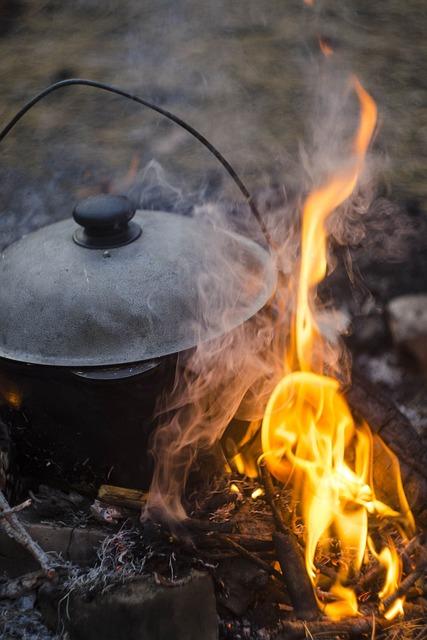 The, Flame, Koster, Fever, Bonfire, Burns, Tourism