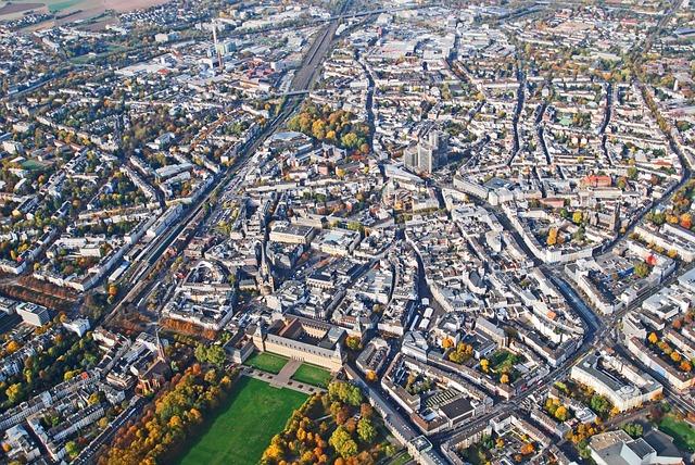 Bonn, North Rhine Westphalia, Poppelsdorf, Aerial View