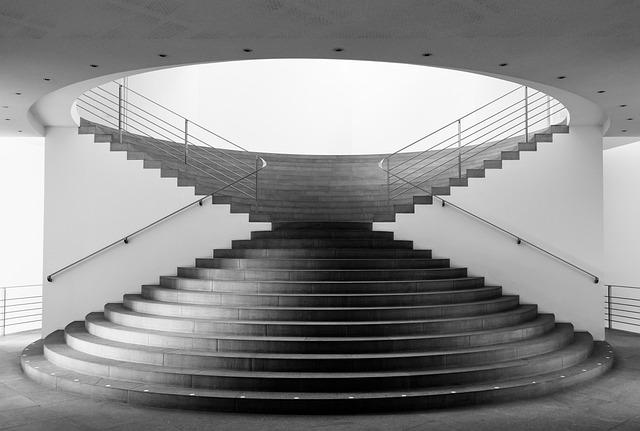 Stairs, The Kunstmuseum Bonn, Museum, Bonn