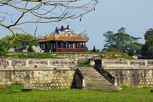 Viet Nam, Booed, Pavilion, Imperial Palace, Travel