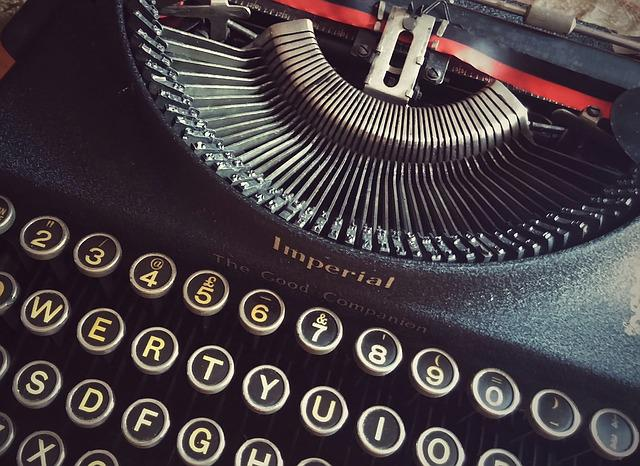 Type, Typewriter, Font, Writing, Author, Book, Read