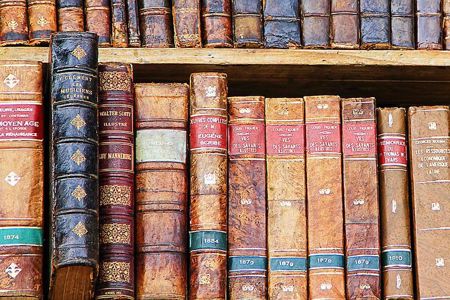 Book, Books, Old Books, Library, Literature, Used