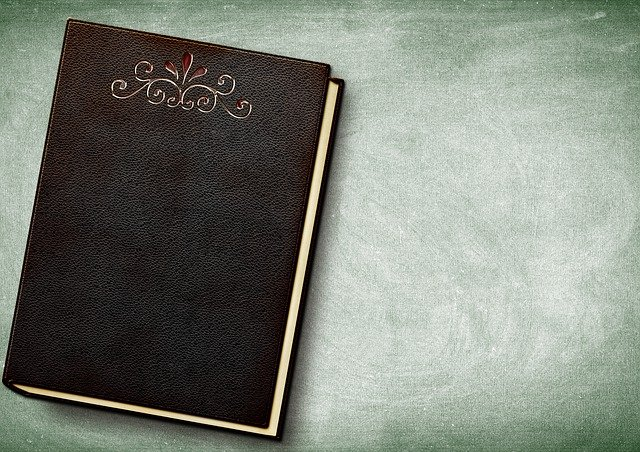 Book, Embossing, Leather, Book Cover