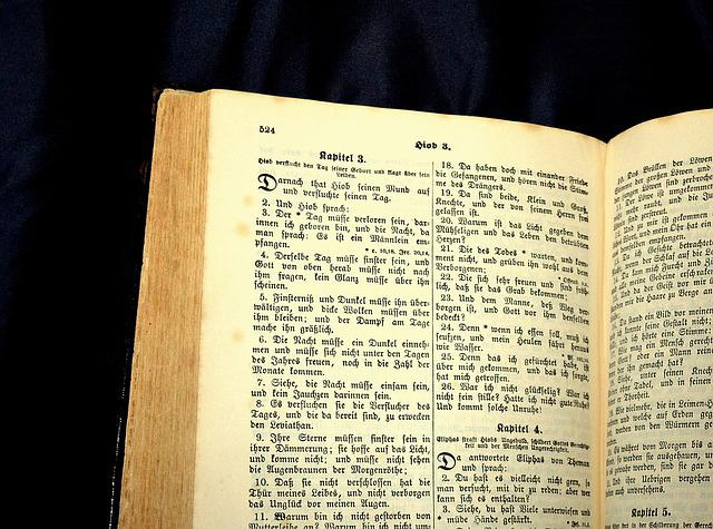 Bible, Book, Holy Scripture, Word Of God, Antiquarian
