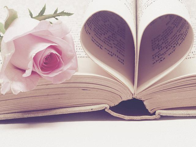 Love Story, Valentine's Day, Book, Literature, Page
