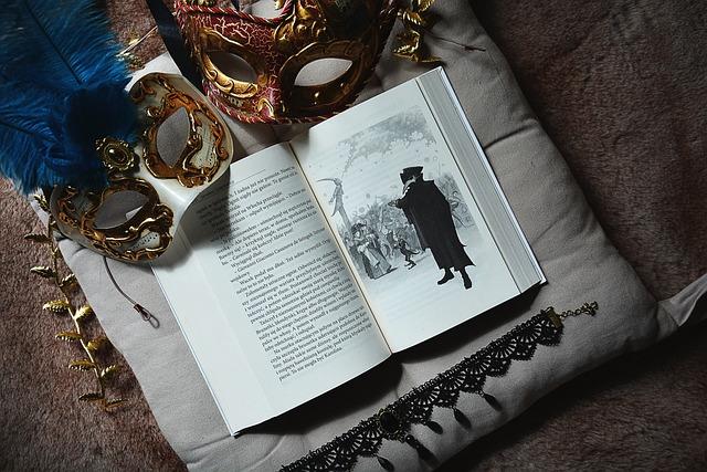 Book, Mask, Venice, Mask Venetian, Illustration, White