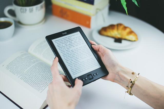 Kindle, Book, Reading, Study, Learning, Education