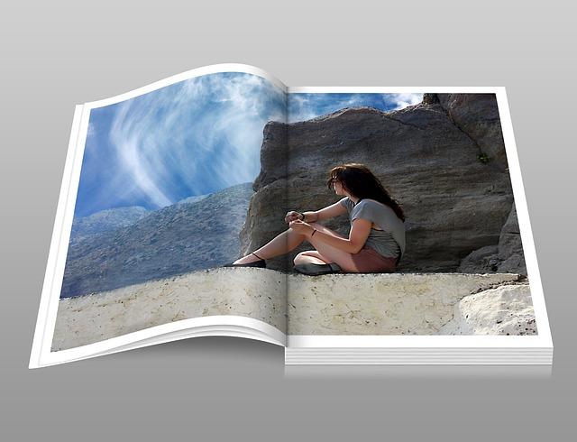 Booklet, Book, Digital, Girl, Woman, Catalog, Photobook