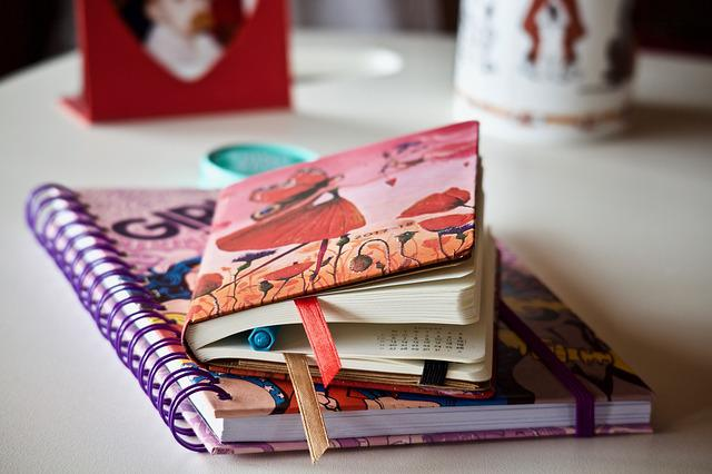 Agenda, Notebook, Books, Appointment, Student, Desk