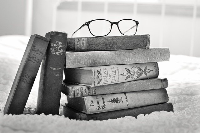 Stack Of Books, Vintage Books, Book, Books, Old