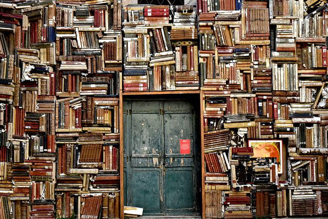 Books, Door, Entrance, Culture, Library, Knowledge