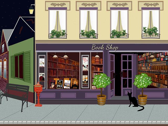 Bookstore, Store, Books, The Book Store, Read, Trade