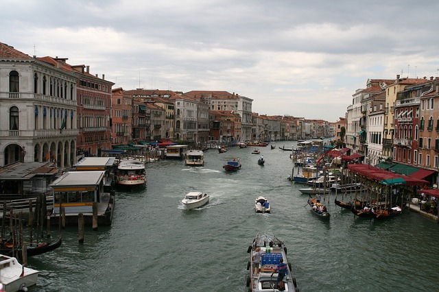 Channel, Waters, City, Travel, Gondola, Boot, Tourism