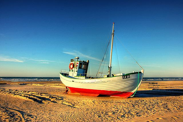 Beach, Cutter, Sea, Coast, Water, Boot, Ship, Lake