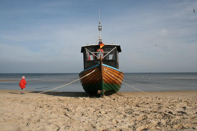 Cutter, Fishing Boat, Fishing Vessel, Boot, Usedom, Sea