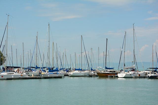 Marina, Boot, Sea