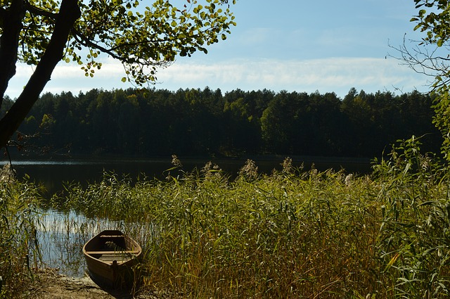 Landscape, Poland, Nature, Lake, Water, Boot, Waters