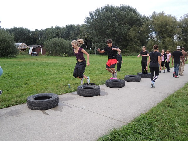 Bootcamp, Car Tyres, Crossfit