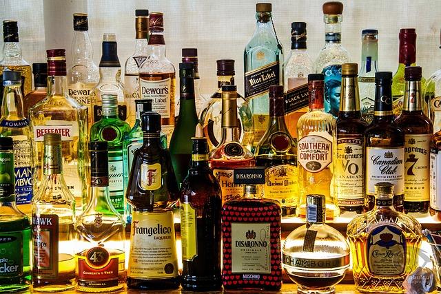 Liquor, Bottles, Alcohol, Drink, Bar, Booze, Pub