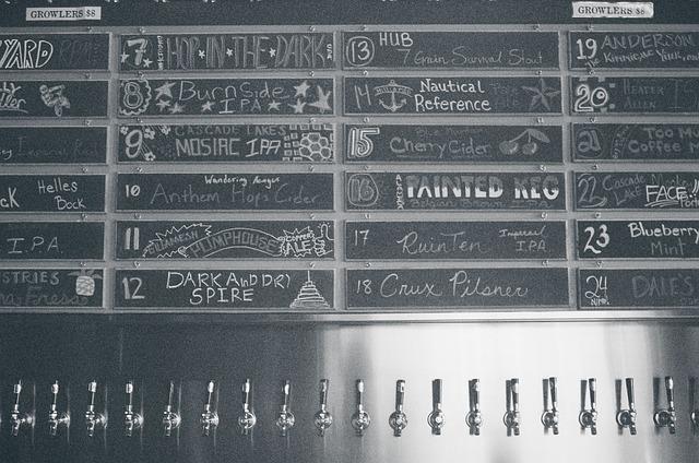 Beer Taps, Bar, Brews, Craft, Booze, Alcohol