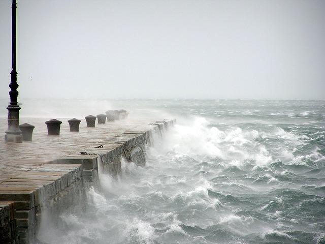 Bora, Wind, Stormy Sea