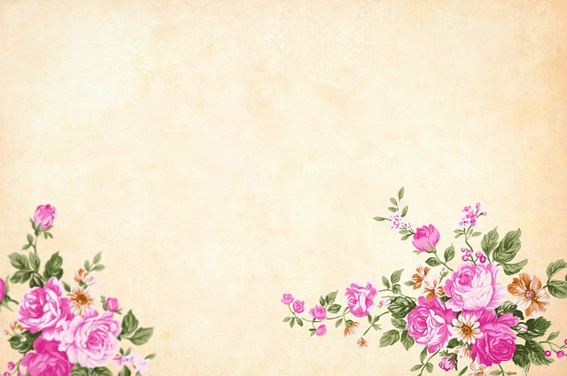 Flower, Background, Watercolor, Floral, Border
