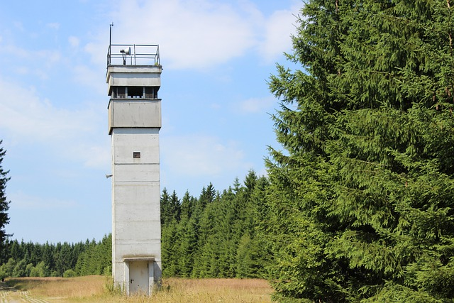Tower, Border, Ddr, Resin, History, Guard, Watchtower