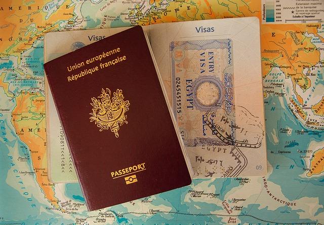 Passport, Visa, Border, Buffer, Customs