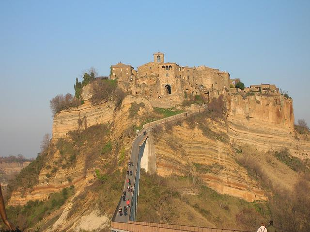 Civita Di Bagnoregio, The Town That Died, Borgo