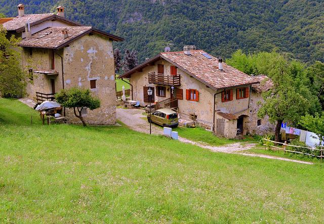 Prato, House, Borgo, Old Houses, Nature, Tranquility